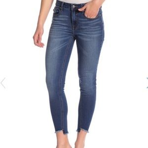 Vigoss Marley skinny raw hem jeans 29